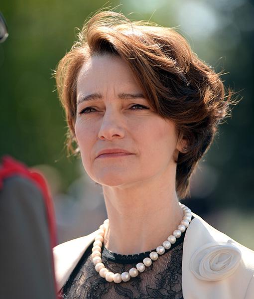 Slowenische Botschafterin Mag Ksenija Skrilec